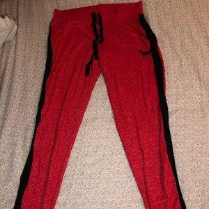 Victoria's Secret: Pink jogger pajama pants